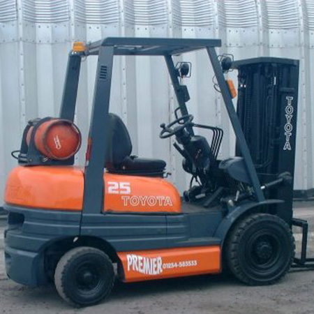 TOYOTA 6FGF25 L.P.GAS Fork Lift