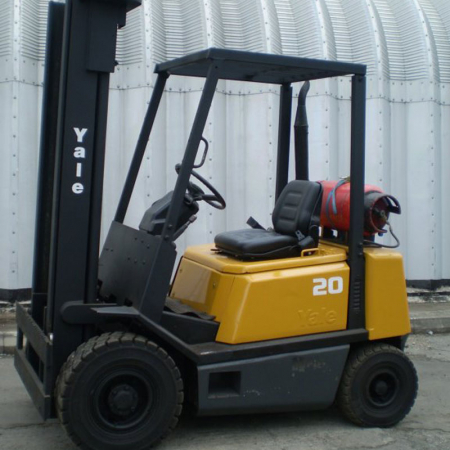 YALE GLP20 L.P.GAS FORK LIFT
