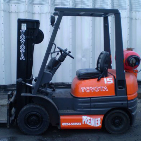 TOYOTA 6FGF15 L.P.GAS Fork Lift