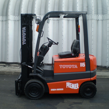 TOYOTA FBM16 ELECTRIC Fork Lift