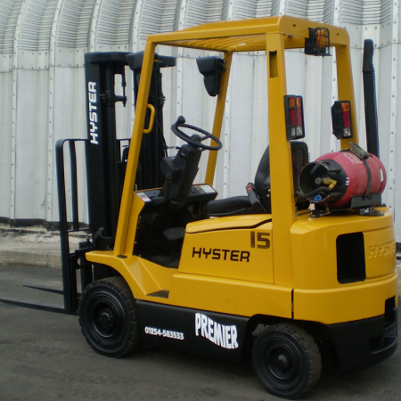 HYSTER H1.50XM L.P.GAS Fork Lift