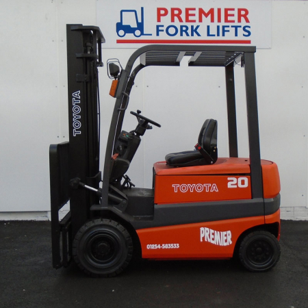 TOYOTA FBMF20 ELECTRIC Fork Lift