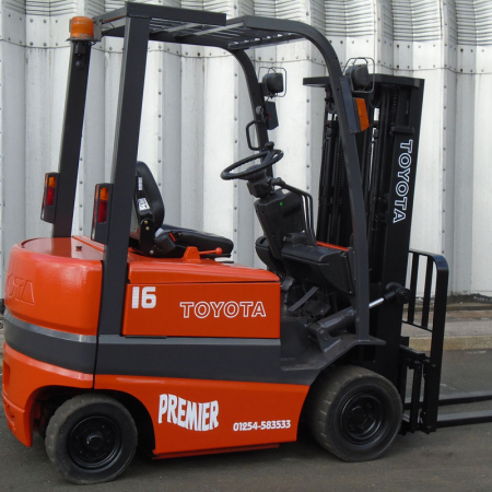 TOYOTA FBMF16 ELECTRIC Fork Lift