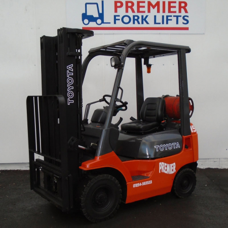 TOYOTA 7FGF15 L.P.GAS Fork Lift