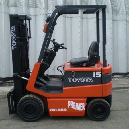 TOYOTA 5FB15 ELECTRIC Fork Lift