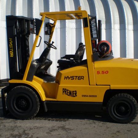 HYSTER H5.50XM L.P.GAS Fork Lift
