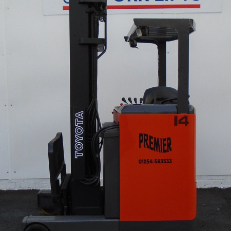 TOYOTA 6FBRE14 ELECTRIC Fork Lift
